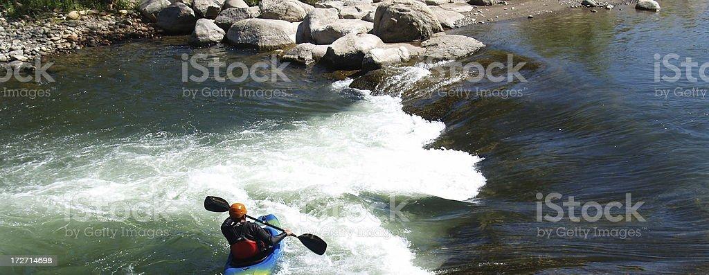 Kayak Recreation royalty-free stock photo