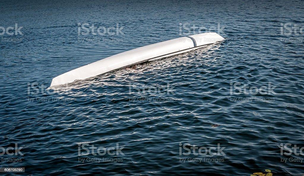 kayak rolling technique 9 stock photo
