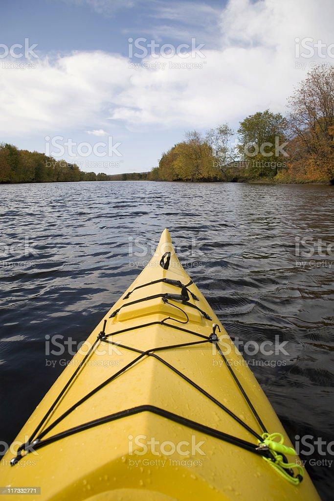 Kayak series royalty-free stock photo