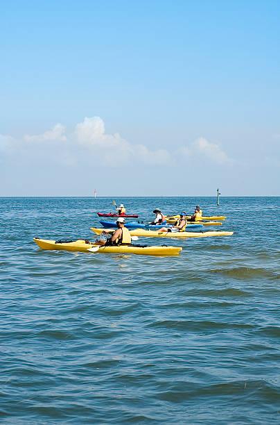 Kayak Trip stock photo