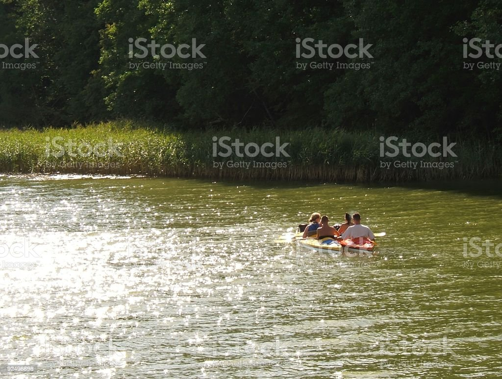 kayak01 royalty-free stock photo