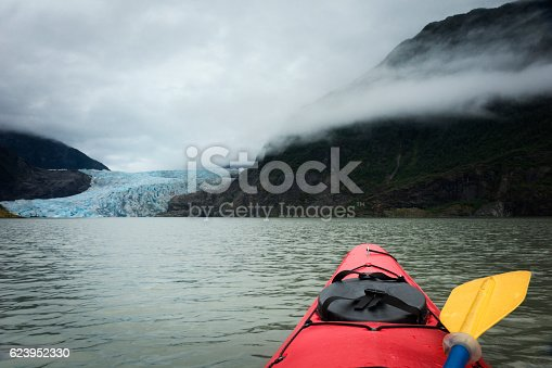 istock Kayaker approaches Mendenhall Glacier 623952330