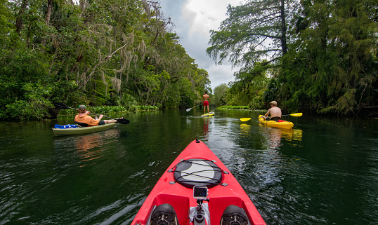 Kayaking and Paddleboarding on Silver River