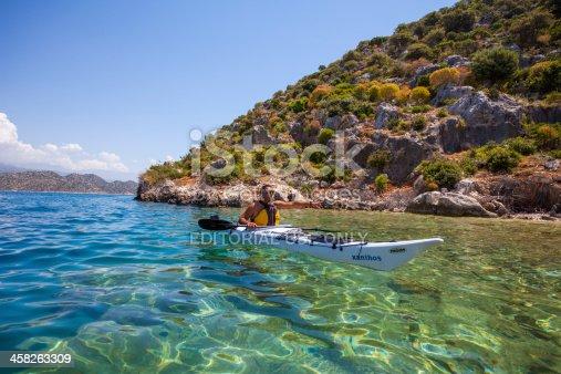 istock Kayaking at Kekova, Turkey 458263309