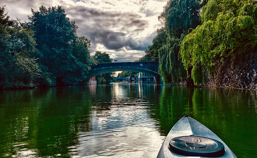 Kayaking in Hamburg