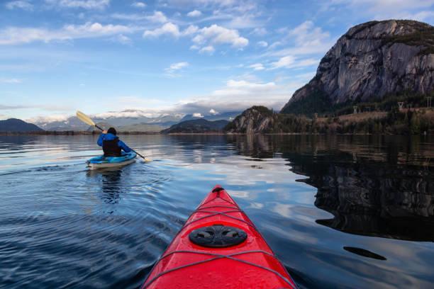 Kayaking in Squamish