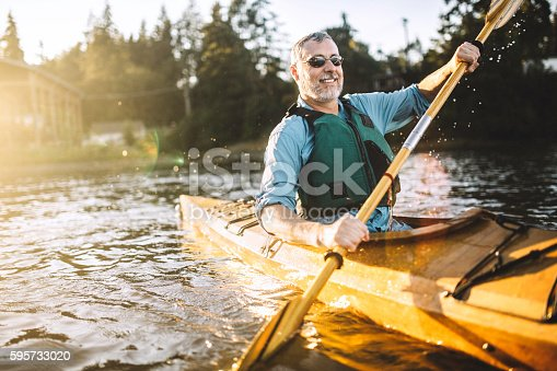 istock Kayaking In The Pacific Northwest 595733020