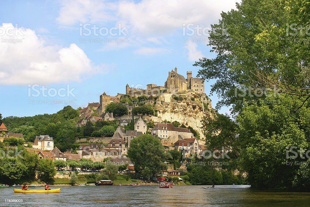 Kayak sur la Rivière Dordogne en France - Photo