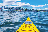 Kayaking on Lake Union in Seattle, WA