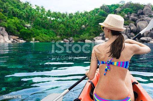 516449022 istock photo Kayaking 1063475716