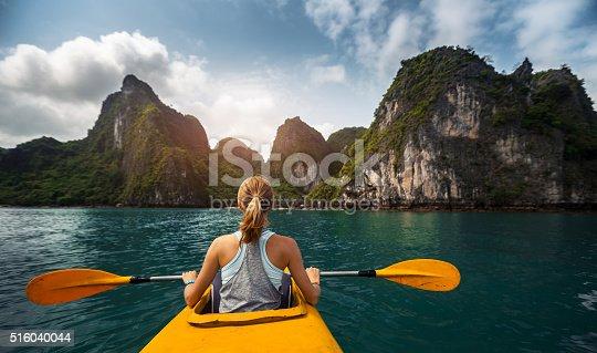 516449022 istock photo Kayaking 516040044