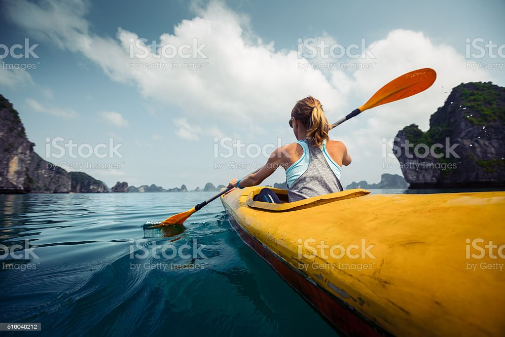 Kayak - foto de stock
