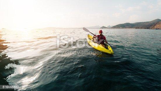 516449022 istock photo Kayaking 516448880
