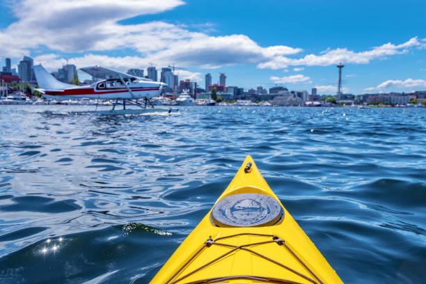 皮划艇 - seattle 個照片及圖片檔