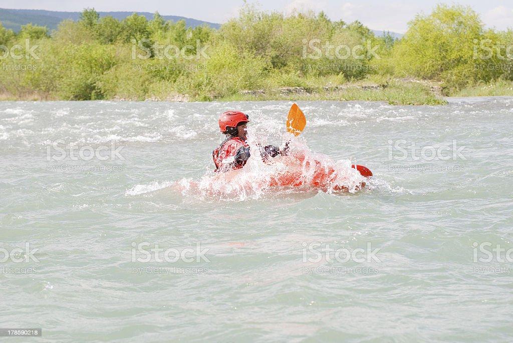 kayaking sport royalty-free stock photo