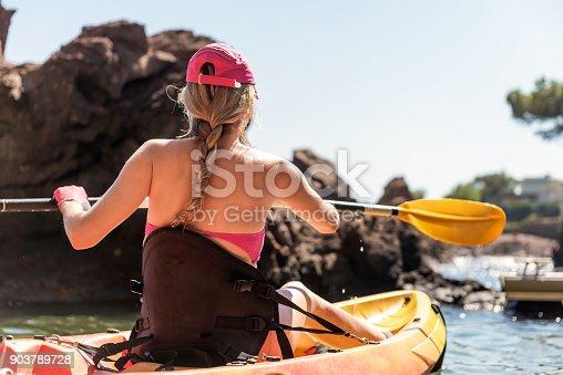 516449022 istock photo Kayaking & summer 903789728