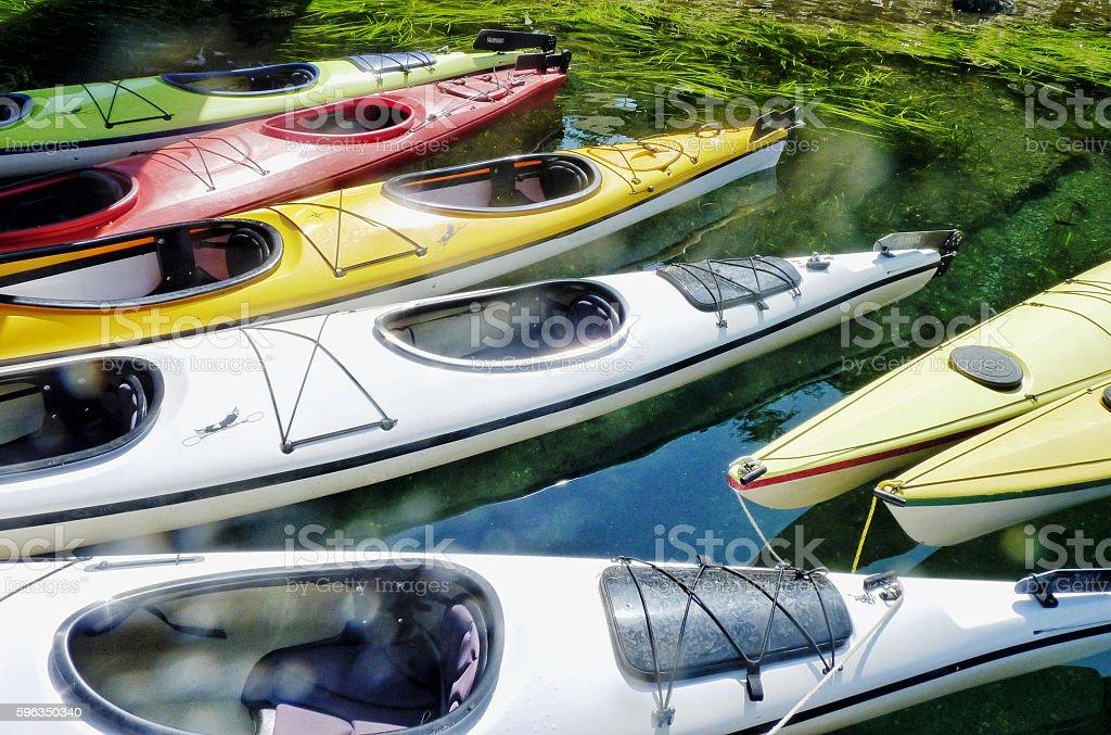 Kayaks to Go royalty-free stock photo