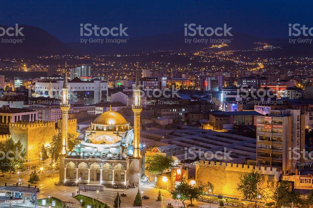 Kayseri city, Turkey stock photo