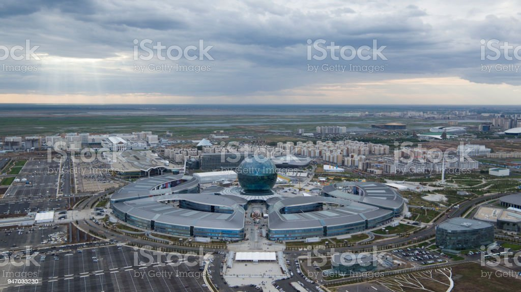 Kazakhistan Astana stock photo