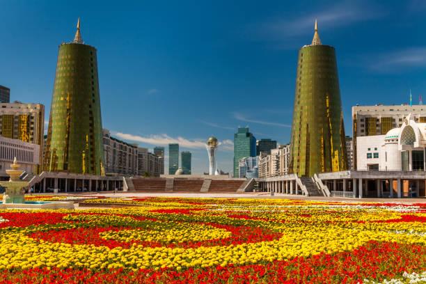 Kazakhstan, Astana City, Parlament stock photo