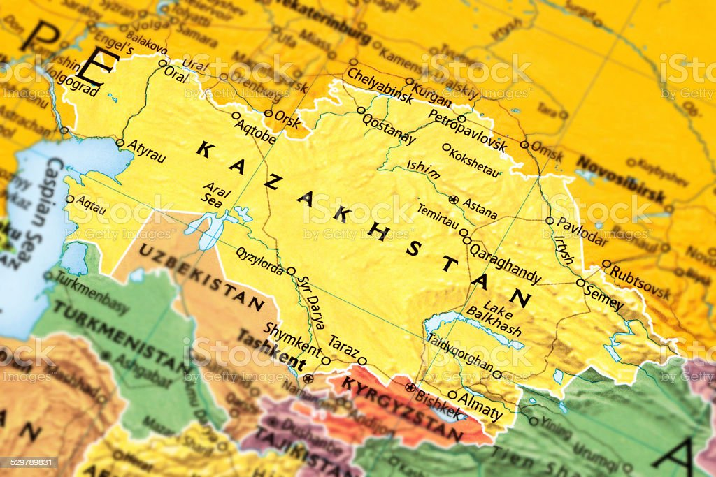 Kazakhstan stock photo