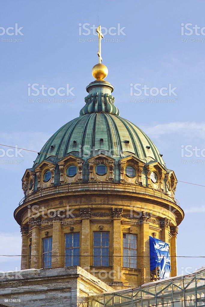 Kazan Cathedral royalty-free stock photo
