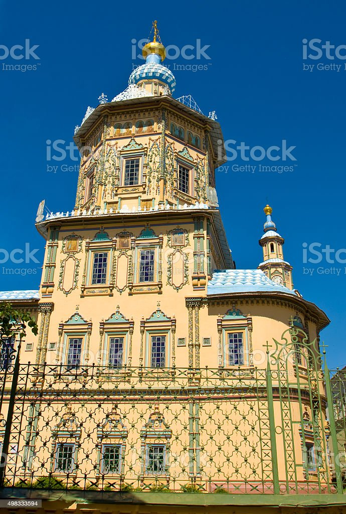 Kazan, church of Saint Peter and Paul stock photo