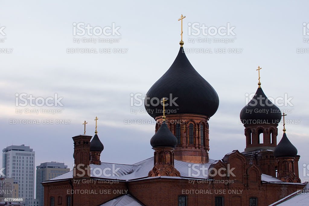 Kazan, Russia, 19 november 2016, ortodox old believers Church stock photo