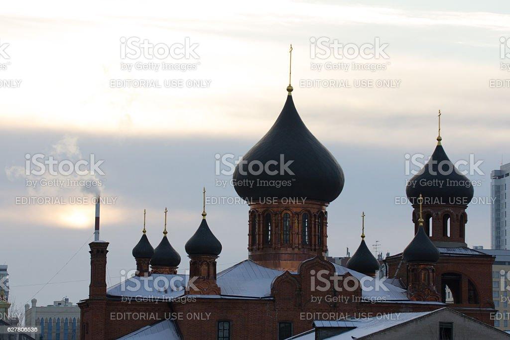 Kazan, Russia, 19 november 2016, ortodox Old believers' Church stock photo