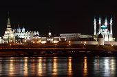 Kazan.Kremlin.night.water
