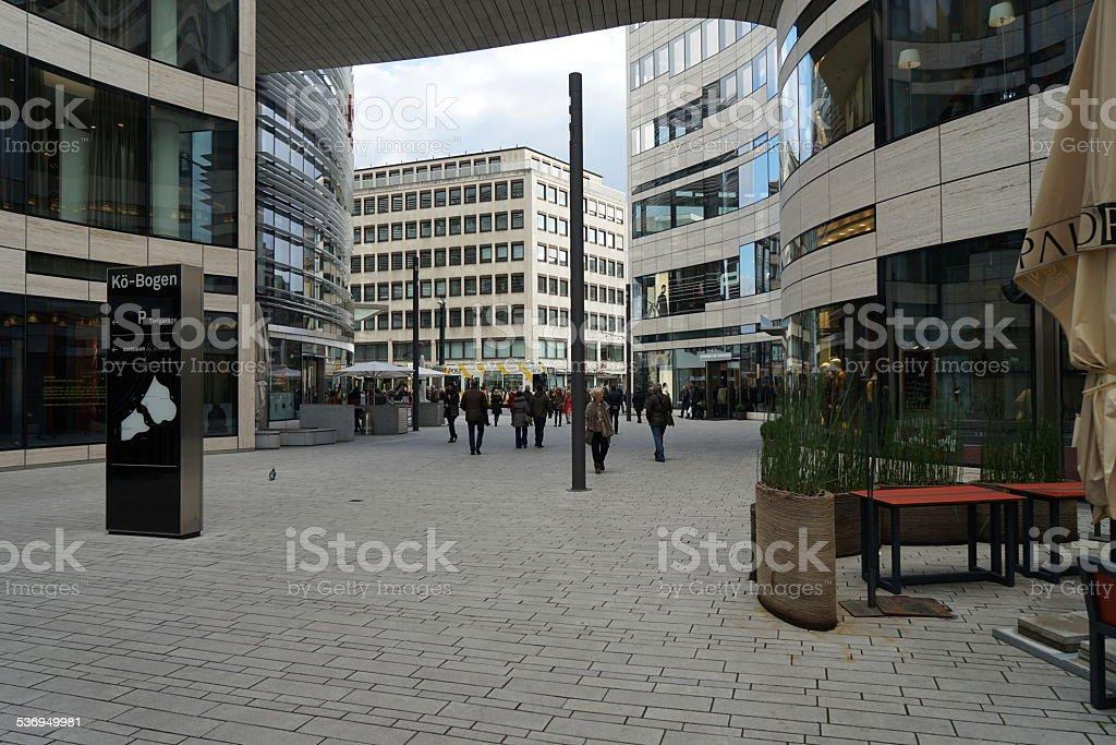 Kö-Bogen Duesseldorf stock photo