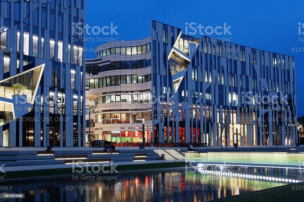 Kö-Bogen in Düsseldorf stock photo