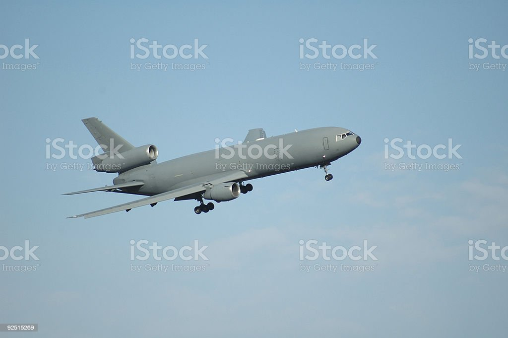 kc-10 royalty-free stock photo