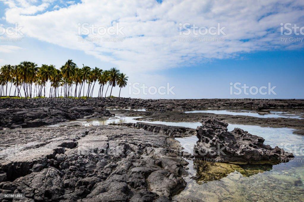 Kealakekua Bay, Kona Seite, big Island, Hawaii-Inseln – Foto