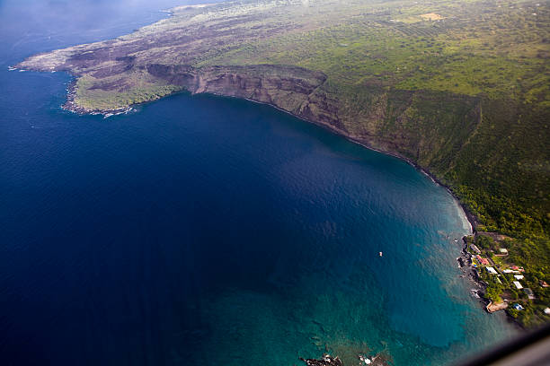 Kealakekua Bay stock photo