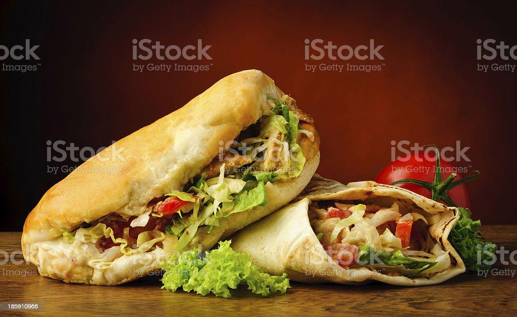 Kebab und Schawarma – Foto
