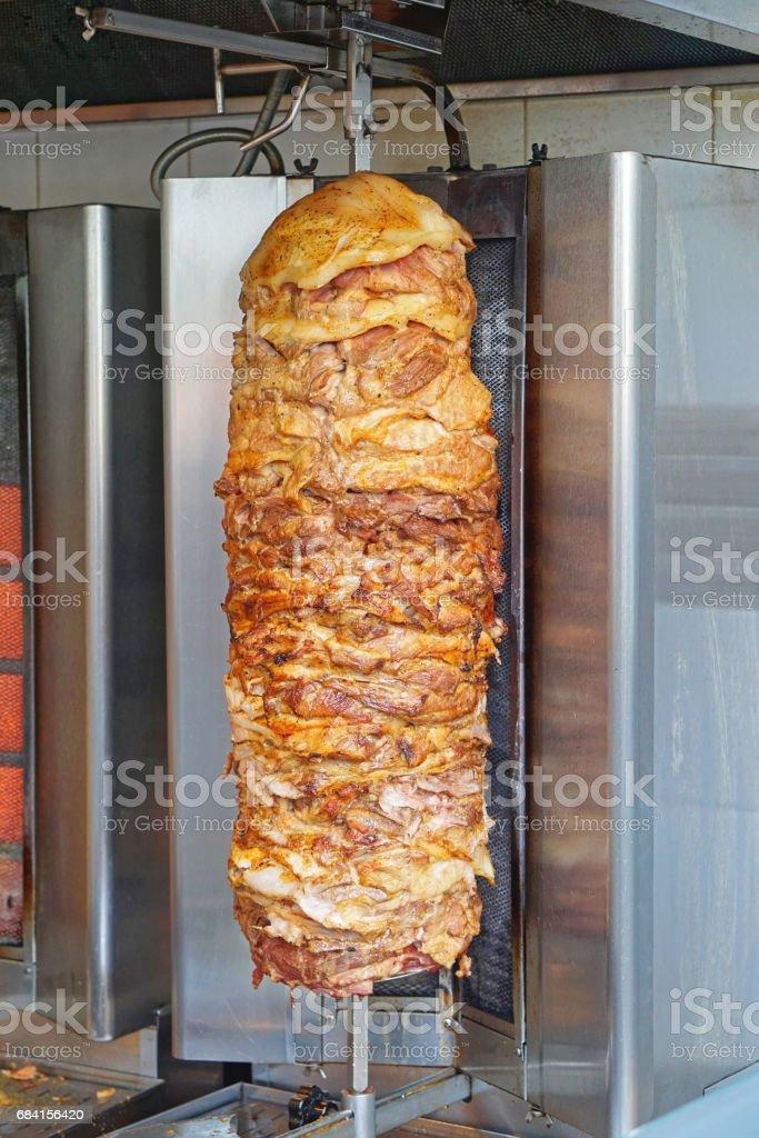 Kebab royalty free stockfoto