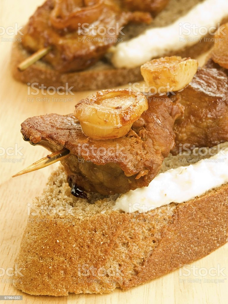 Kebab royalty-free stock photo