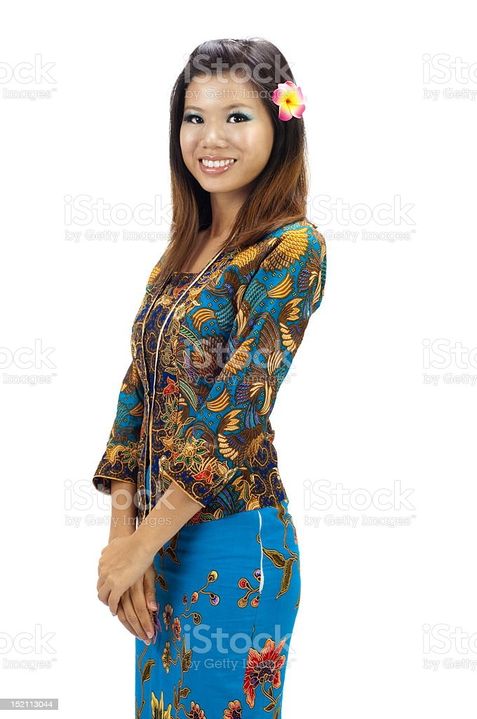 Kebaya royalty-free stock photo