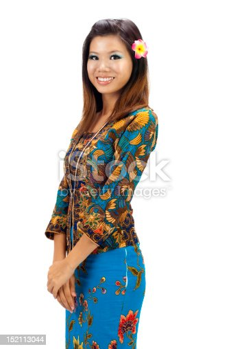 Kebaya Stock Photo & More Pictures of Adult