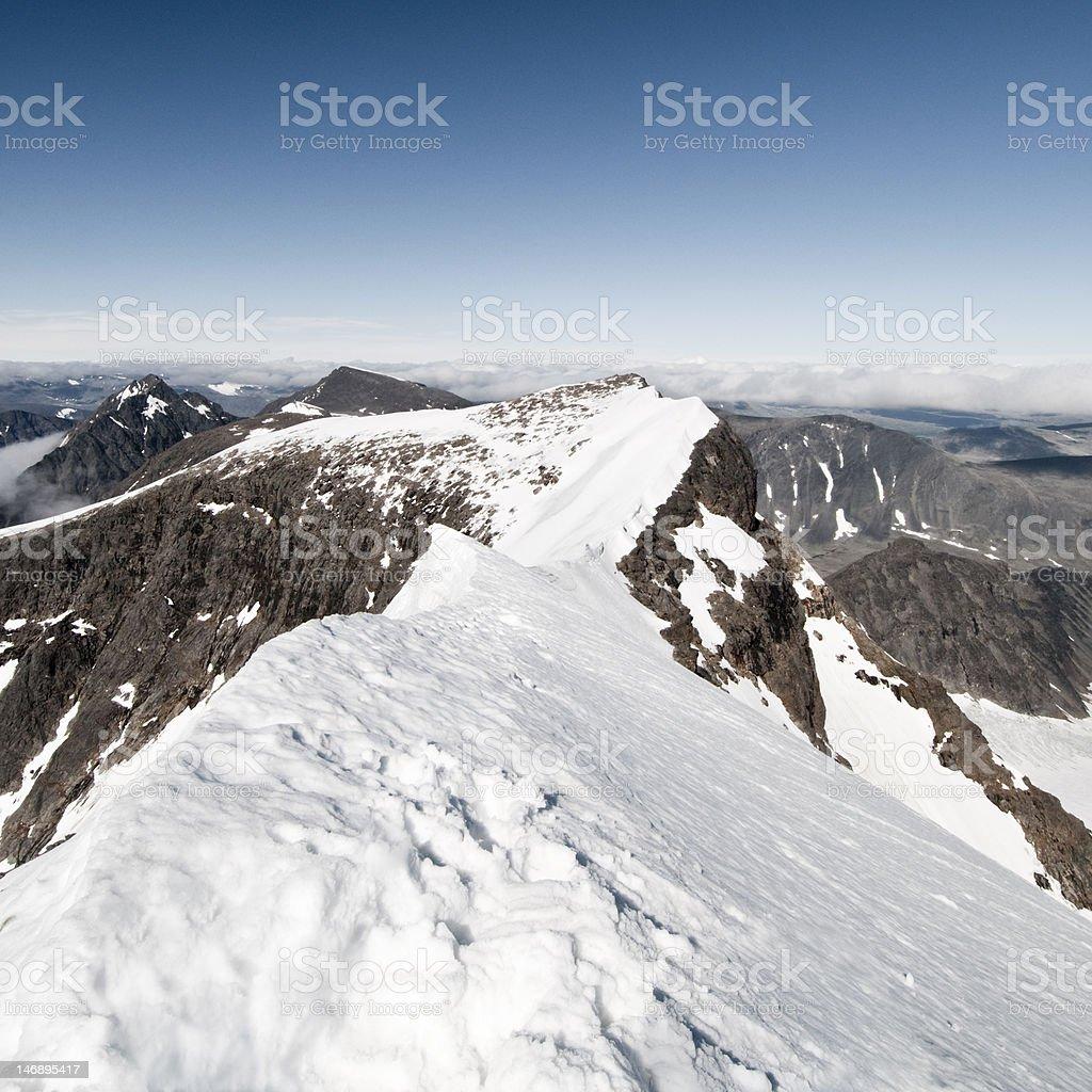 Kebnekaise National Park stock photo