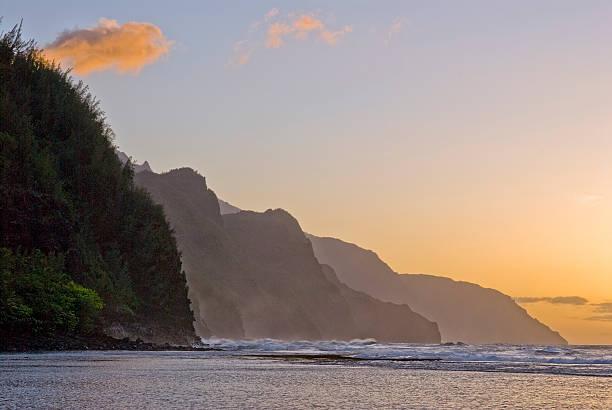 Kee-Strand bei Sonnenuntergang – Foto