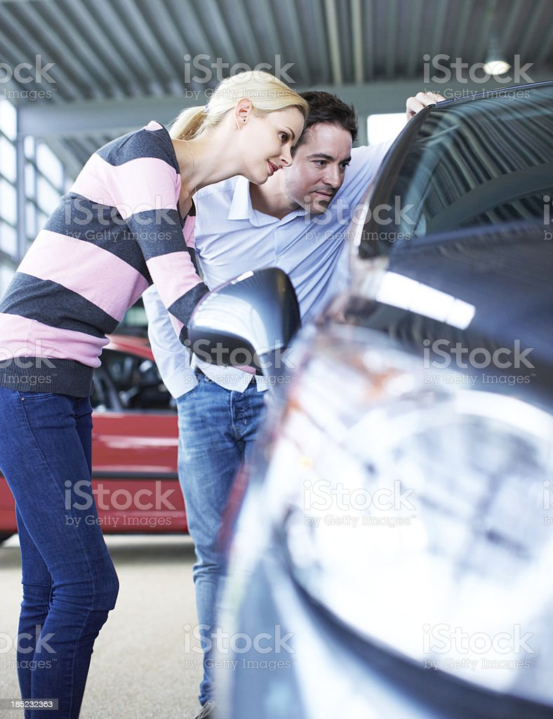 Keen observers for the perfect buy royalty-free stock photo