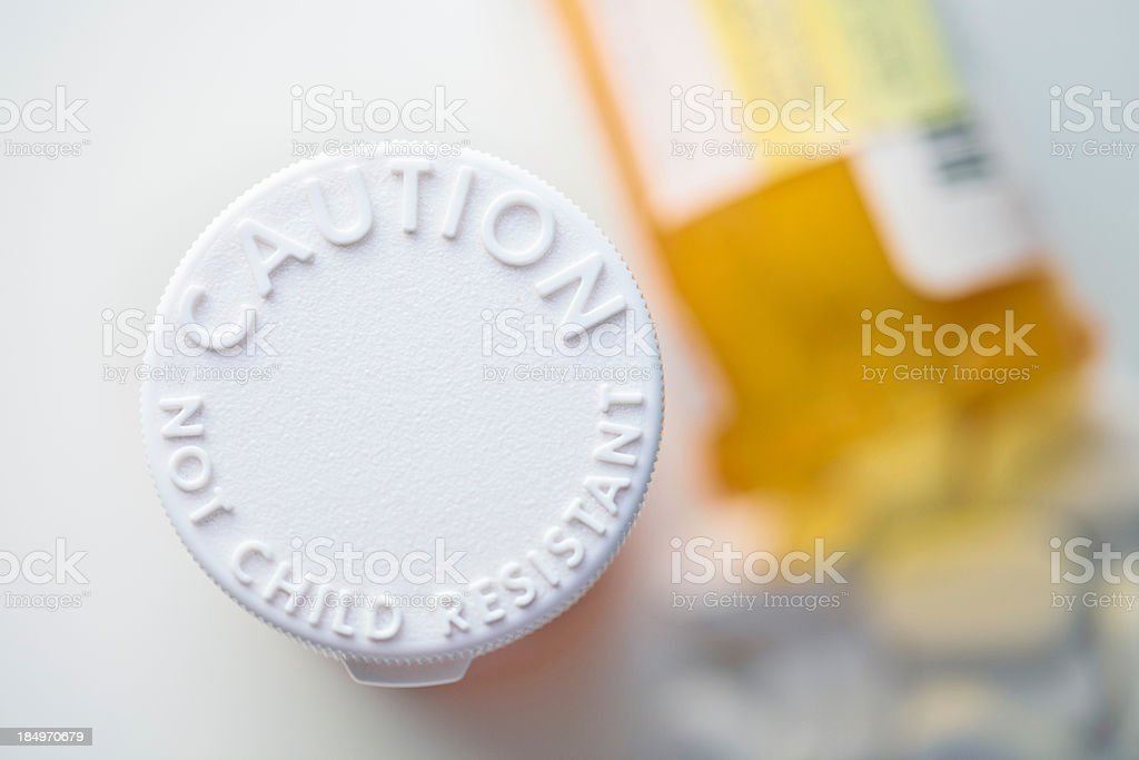 Keep Away from Children stock photo