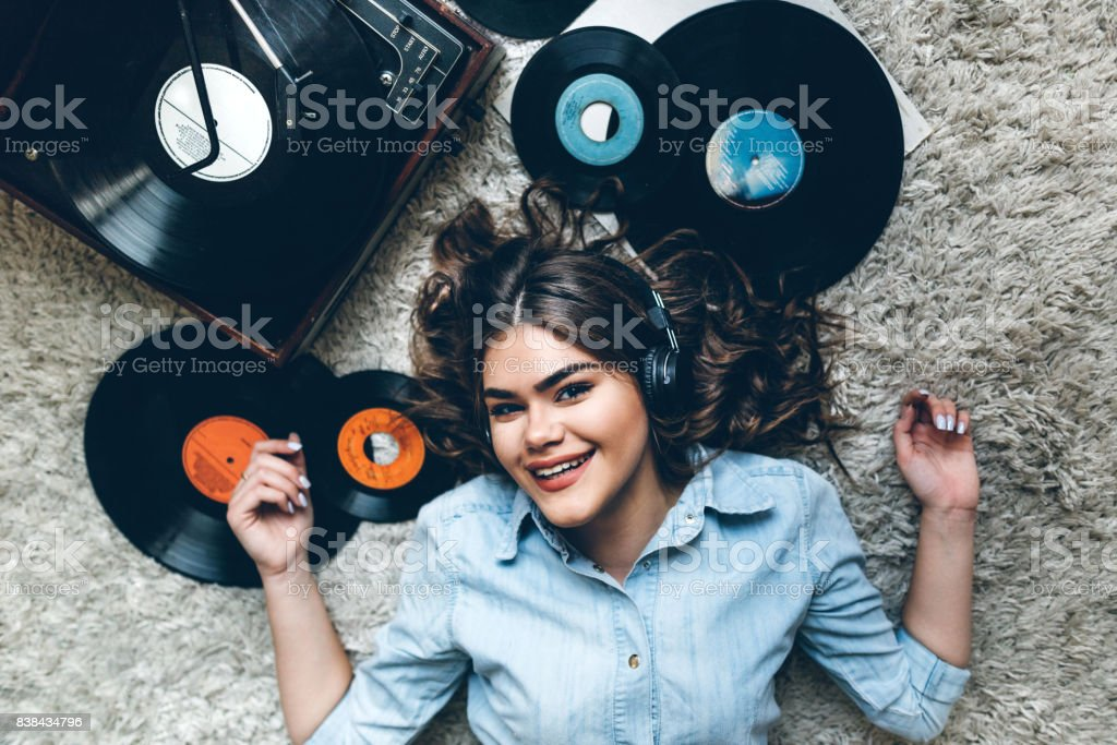 Keep Calm And Let The Music Play On Stock Photo - Download