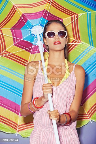 istock Keep calm summer is here 530935174