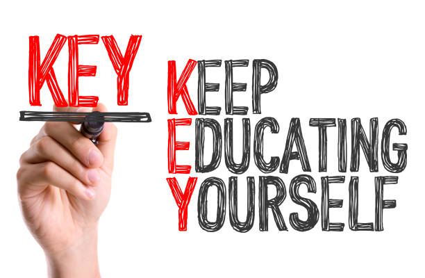 keep educating yourself - adult education stock pictures, royalty-free photos & images