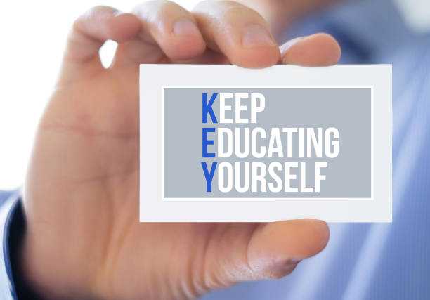 Halten Sie die Ausbildung  – Foto