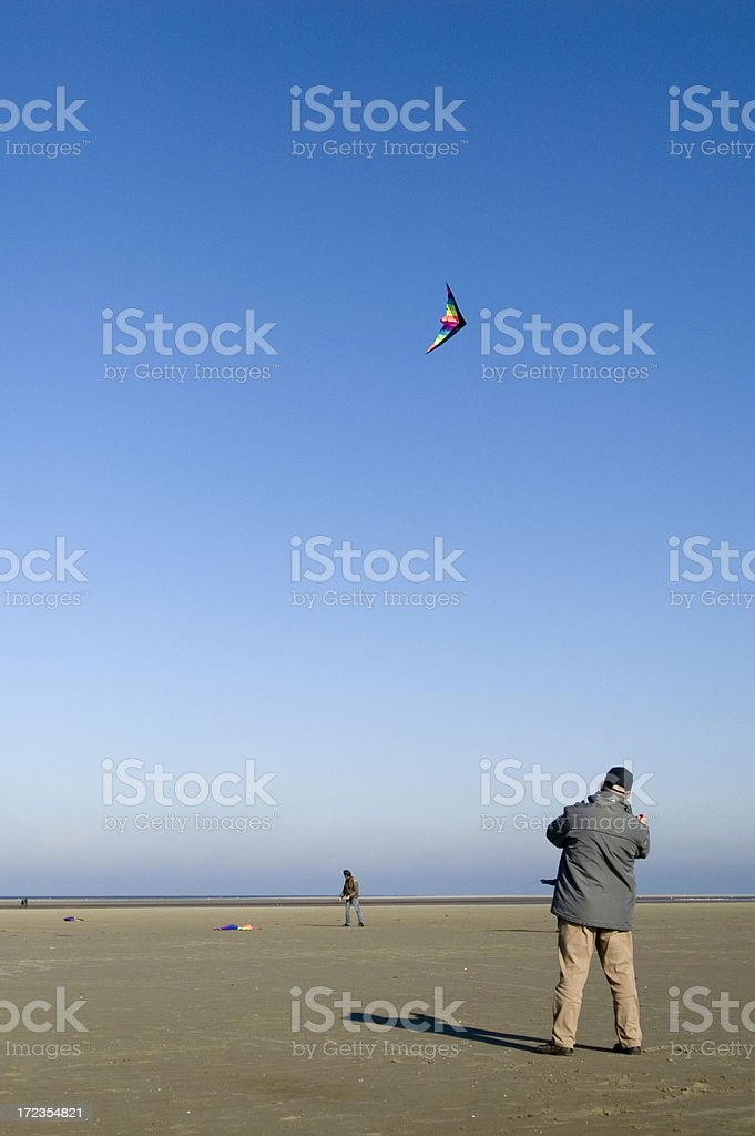 Keep it in the air royalty-free stock photo