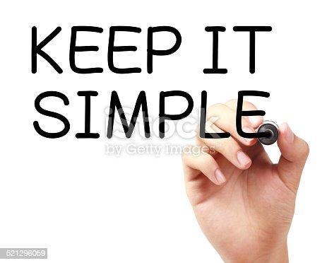 istock Keep It Simple 521296059